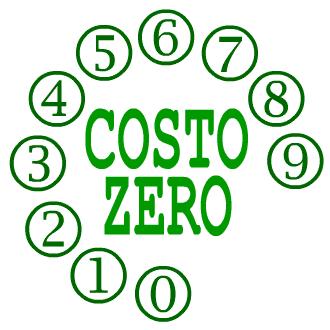 [immagine] Logo della tessera del Movimento Costozero